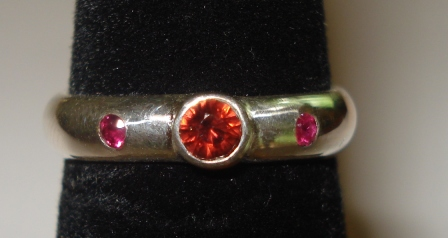 Ruby & Garnet Ring